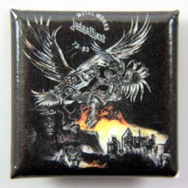Judas Priest - 'Metal Works 73-93' Square Badge